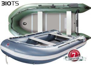 Лодка ПВХ Юкона (YUKONA) 310 TS – U Алюминиевая слань