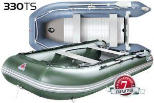 Лодка ПВХ Юкона (YUKONA) 330 TS — U Фанерная слань