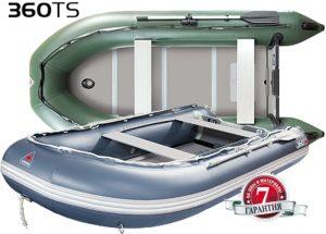 Лодка ПВХ Юкона (YUKONA) 360 TS – U Фанерная слань