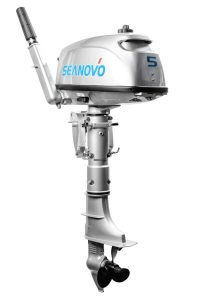 Лодочный мотор Seanovo SN5FHS с баком (5 л.с., 2 такта)