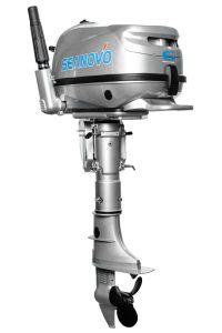 Лодочный мотор Seanovo SNF6HS без бака (6 л.с., 4 такта)